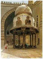 Mosque of Sultan Hassan, Cairo by Henry Ferguson