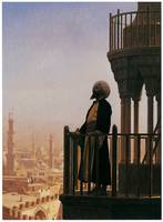 Le Muezzin, the Call to Prayer by Jean-Leon Gerome