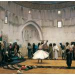 """The Whirling Dervishes by Jean-Leon Gerome"" by ArtLoversOnline"