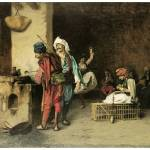 """A Cafe in Cairo by Jean-Leon Gerome"" by ArtLoversOnline"