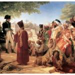 """Bonaparte Pardoning Insurgents in Cairo"" by ArtLoversOnline"