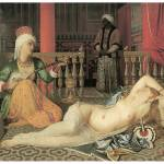 """Odalisque with Slave by Jean Ingres"" by ArtLoversOnline"