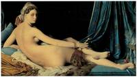 La Grande Odalisque by Jean Ingres