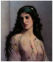 Jewish Girl in Tangiers by Charles Landelle