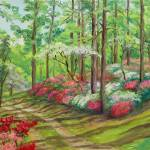 """Azaleas on the Hill"" by elenamaza"