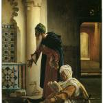 """Arabs at Prayer by Jean Lecomte de Nouy"" by ArtLoversOnline"