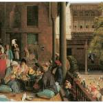 """The Midday Meal, Cairo by John Frederick Lewis"" by ArtLoversOnline"