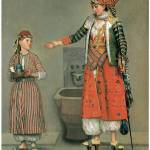 """Frankish Woman and Her Servant by Jean Liotard"" by ArtLoversOnline"