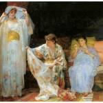 """The Harem by Henry Siddons Mowbray"" by ArtLoversOnline"