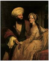 Portrait of Buckinghams in Arab Costume