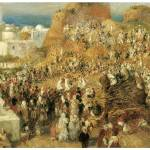"""Arab Festival in Algiers, The Casbah by Renoir"" by ArtLoversOnline"