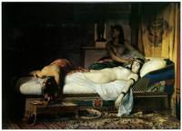 Death of Cleopatra by Jean-Andre Rixens