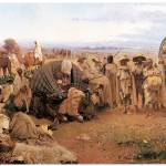 """The Halt of the Caravan by Gustavo Simoni"" by ArtLoversOnline"