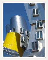 Frank Gehry MIT Building Cylinders