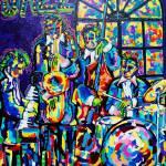 """Freaky Jazz"" by neworleansartist"