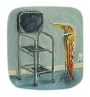 Bird & Kitchen Stool