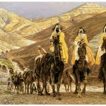"""Journey of the Magi by James Tissot"" by ArtLoversOnline"