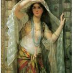 """Safie, One of the Three Ladies of Bagdad"" by ArtLoversOnline"