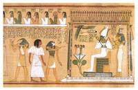 Deceased Introduced to the God Osiris