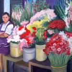 """Yucatan flowers"" by lynneolivier"