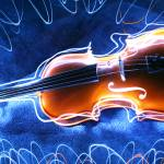 """violin light painting"" by 4ever30something"