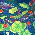 """Nasturtiums"" by lynneolivier"