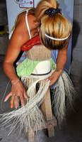 Weaving a Panama Hat