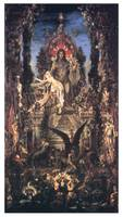 Zeus and Semele by Gustave Moreau