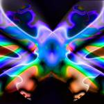 """""""Lava Lamp - Rainbow Butterfly"""" by DolphinArts"""