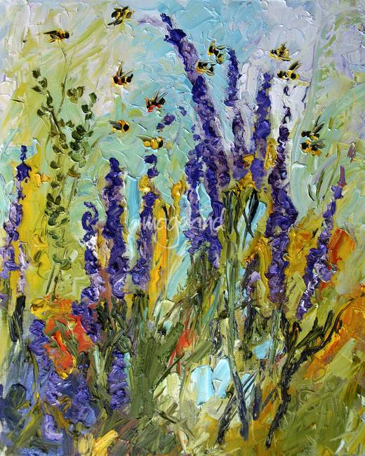 lavender painting - photo #43