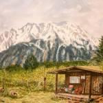 """""""""""Chugach Cabin"""""""" by artdehigby"""