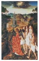 The Ascension of the Elect by Dieric Bouts