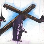 """""""Luke 14:27"""" by berreyart"""