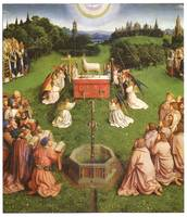 The Adoration of the Lamb by Jan van Eyck