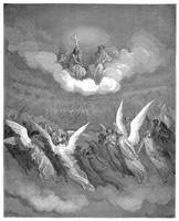 Heaven Rung with Jubilee by Gustave Dore