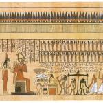 """Osiris Witnessing the Weighing of the Heart of Hor"" by ArtLoversOnline"