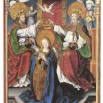 """Coronation of the Virgin by Master of Cappenberg"" by ArtLoversOnline"