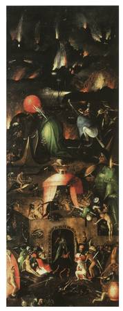 The Last Judgement Tryptych by Bosch