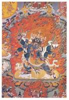 The Winged Chechog Heruka Embracing Consort