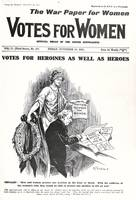Front cover of 'Votes for Women', 26th November 19