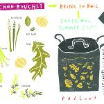 """Vegetable Stock by Nate Padavick"" by TheyDrawandCook"