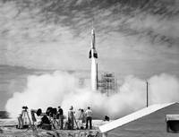 First Rocket Launch from Cape Canaveral
