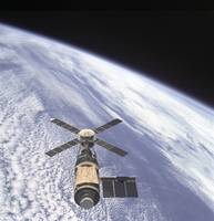 Skylab Orbital Workshop in Earth Orbit, 1974