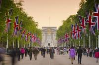 Royal Wedding - The Mall and Buckingham Palace
