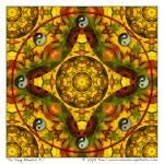 """Yin Yang Mandala #1"" by ravenswingstudio"