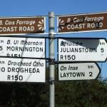 """Irish Street Sign (County Meath)"" by shantelleartgallery"
