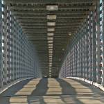 """Freight House Pedestrian Bridge (squared), 2 July"" by photographybyROEVER"