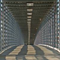 Freight House Pedestrian Bridge (squared), 2 July