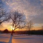 """Winter Sunset in JoCo, 14 Jan 2011"" by photographybyROEVER"