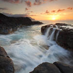"""Na Pali Sunset"" by Dawsonimages"